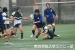 20110423 vs大阪経済大学(1回生試合)
