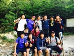 チームビルディング 六甲登山