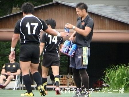 2014/08/23 vs慶應義塾大学D
