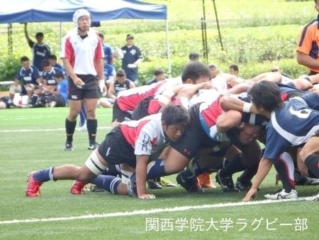 2014/08/23 vs中央大学C