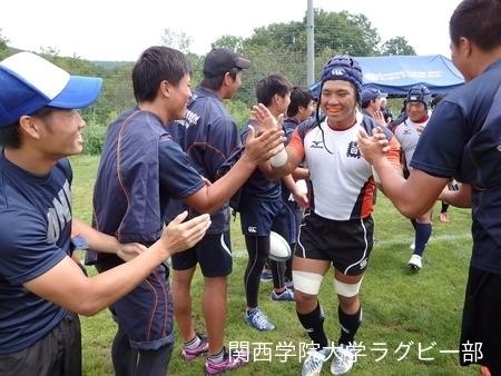 2014/08/25 vs帝京大学A
