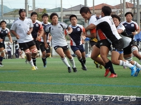 2014/10/25 vs近畿大学C