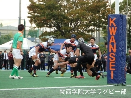 2014/11/02 [ジュニアリーグ] vs天理大学