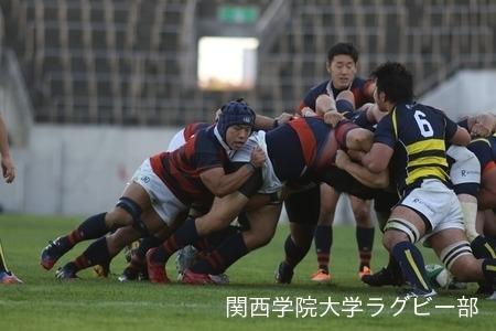 2014/11/15 [関西大学Aリーグ] vs立命館大学