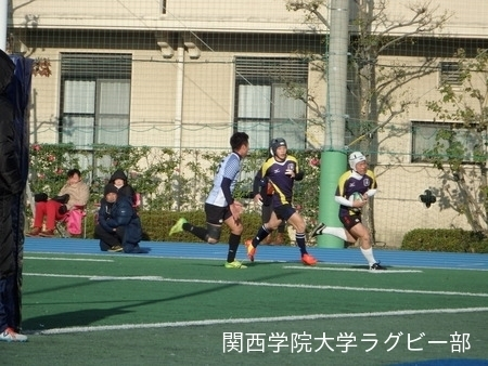2014/12/6 vs関西大学D