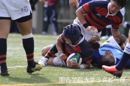 2014/10/12 [関西大学Aリーグ] vs摂南大学