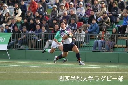 [関西大学Aリーグ] vs京都産業大学