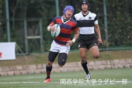 2014/11/01 [関西大学Aリーグ]vs大阪体育大学