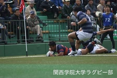 2014/11/23 [関西大学Aリーグ]vs同志社大学