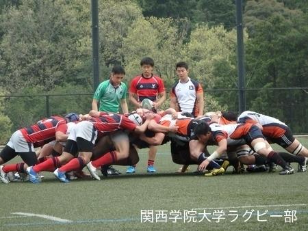 2015/04/19 vs京都産業大学A