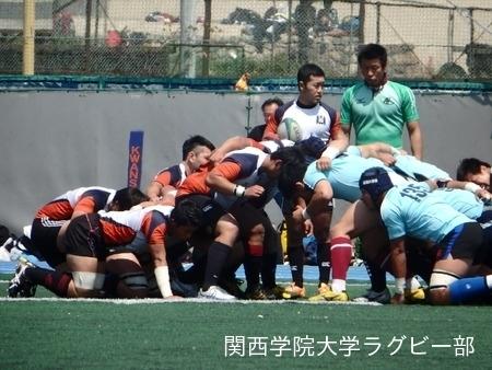 2015/4/25 vs同志社大学A