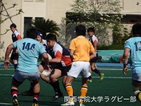 2015/4/25 vs同志社大学B
