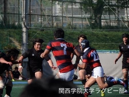 2015/05/05[関学カーニバル]vs天理大学