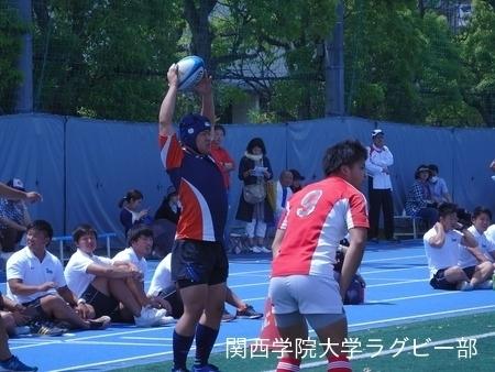 2015/05/17 vs近畿大学B