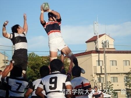 2015/10/03 vs大阪体育大学C