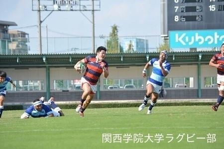 2015/10/04 【Aリーグ】vs摂南大学