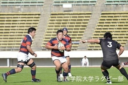 2015/10/31 【Aリーグ】vs天理大学