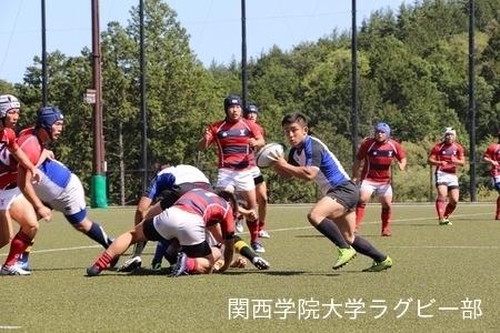 2016/04/17 京都産業大学合同練習
