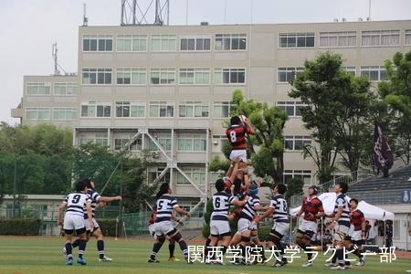 2016/6/12【第39回総合関関戦】vs関西大学