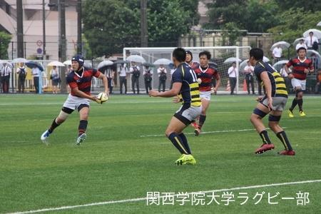 2016/06/19 vs立命館大学【関西大学春季トーナメント】