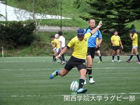 2016/08/19 【菅平合宿】vs成蹊大学A