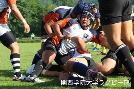 2016/08/19 【菅平合宿】vs中央大学B