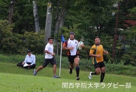 2016/08/21 【菅平合宿】vs大東文化大学B