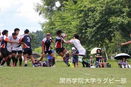 2016/08/21 【菅平合宿】vs大東文化大学A
