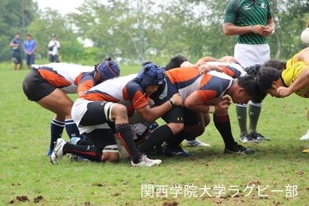 2016/8/23 【菅平合宿】vs帝京大学A,B