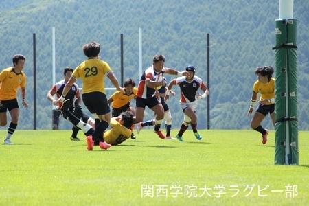 2016/08/25 【菅平合宿】vs拓殖大学A