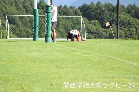 2016/08/25 【菅平合宿】vs拓殖大学B