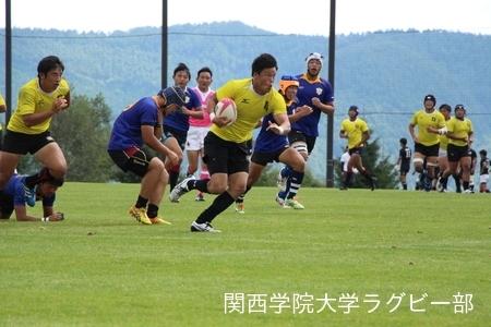 2016/8/26  【菅平合宿】vs拓殖大学C