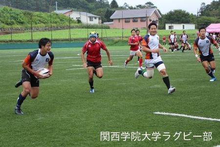 2016/08/27  【菅平合宿】vs日本大学B