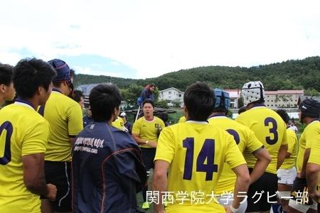 2016/08/28 【菅平合宿】vs日本大学C