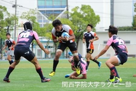 2016/9/18 vs摂南大学C