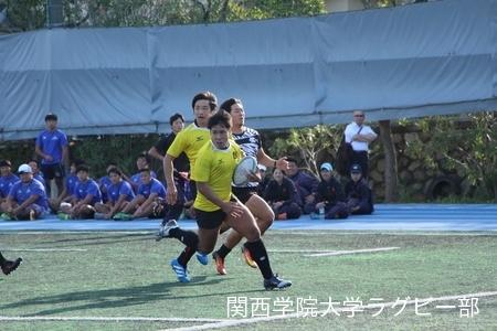 2016/10/15 vs大阪体育大学C