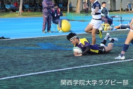 2016/10/29 vs関西大学C