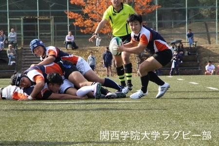 2016/11/13 vs同志社大学D
