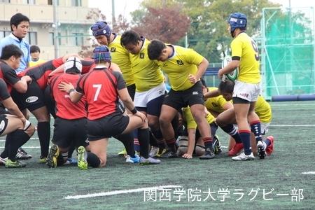2016/11/19 vs天理大学D