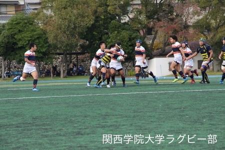 2016/11/26 vs立命館大学Jr