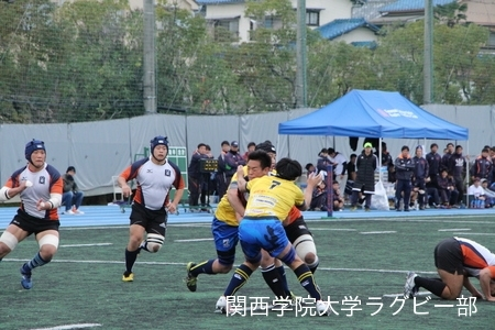 2016/11/26 vs立命館大学C