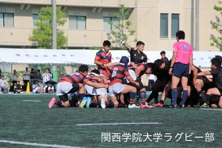 2017/05/05 vs天理大学A【関西学院ラグビーカーニバル】