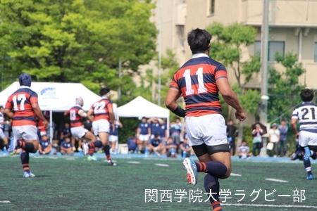 2017/06/11 【定期戦】 vs関西大学