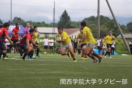2017/08/18 【菅平合宿】 vs立教大学C