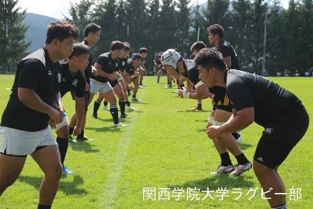 2017/08/19 【菅平合宿】vs立教大学A