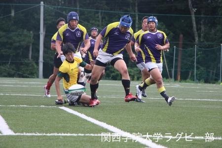 2017/08/20  【菅平合宿】 vs武蔵大学C