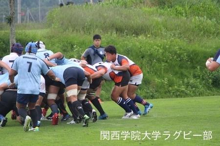 2017/08/21  【菅平合宿】 vs日本大学B