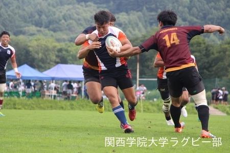 2017/08/21  【菅平合宿】 vs日本大学A