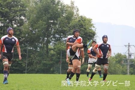 2017/08/22【菅平合宿】vs帝京大学
