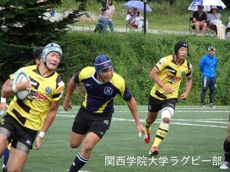 2017/08/23【菅平合宿】vs中央大学C